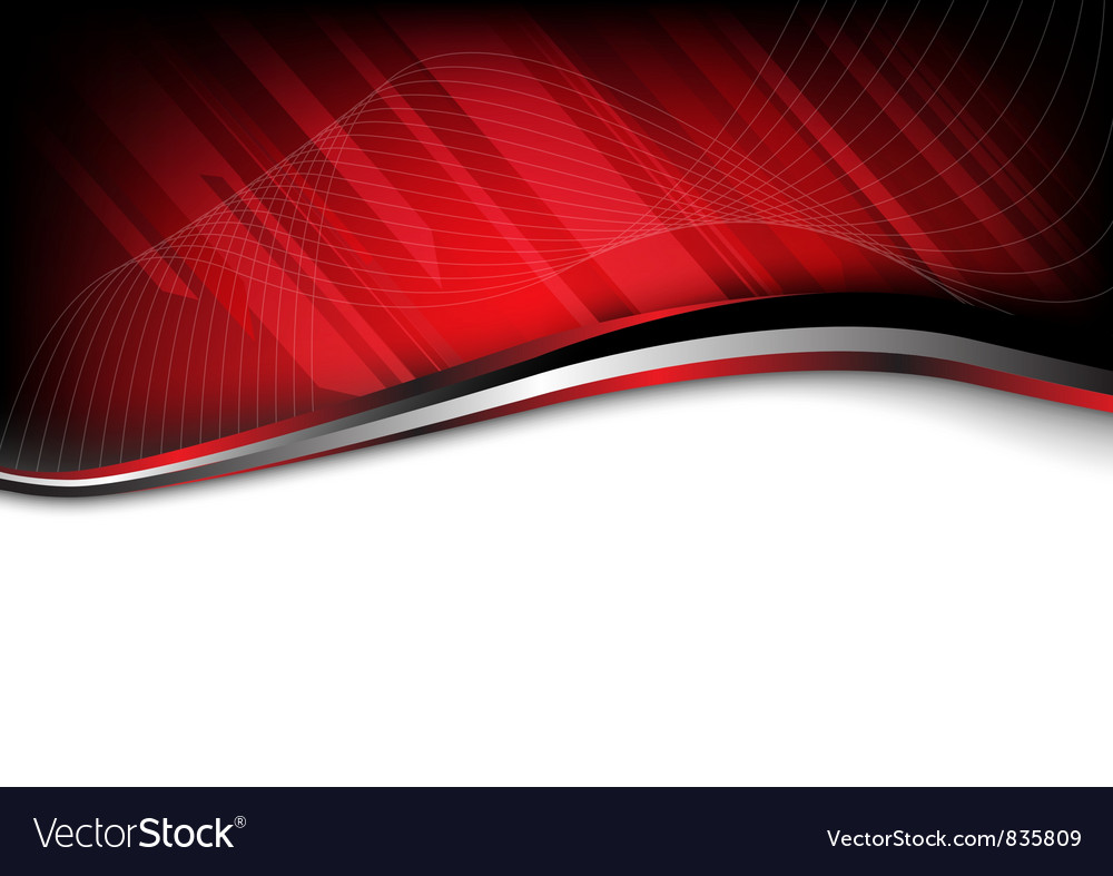 Red background composition vector image