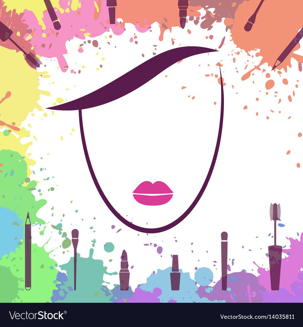 makeup artist logo vector makeup vidalondon