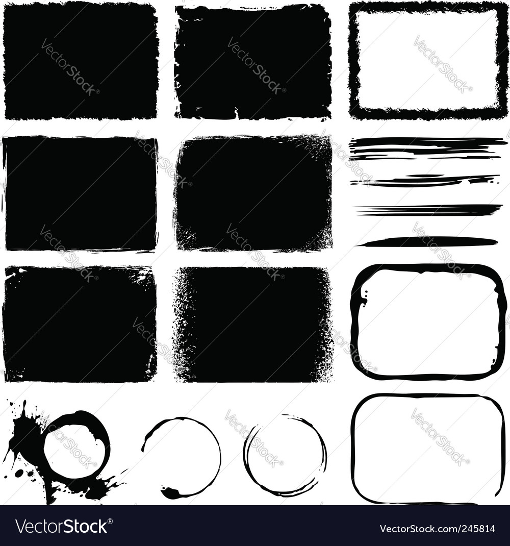 Banners and frames vector image