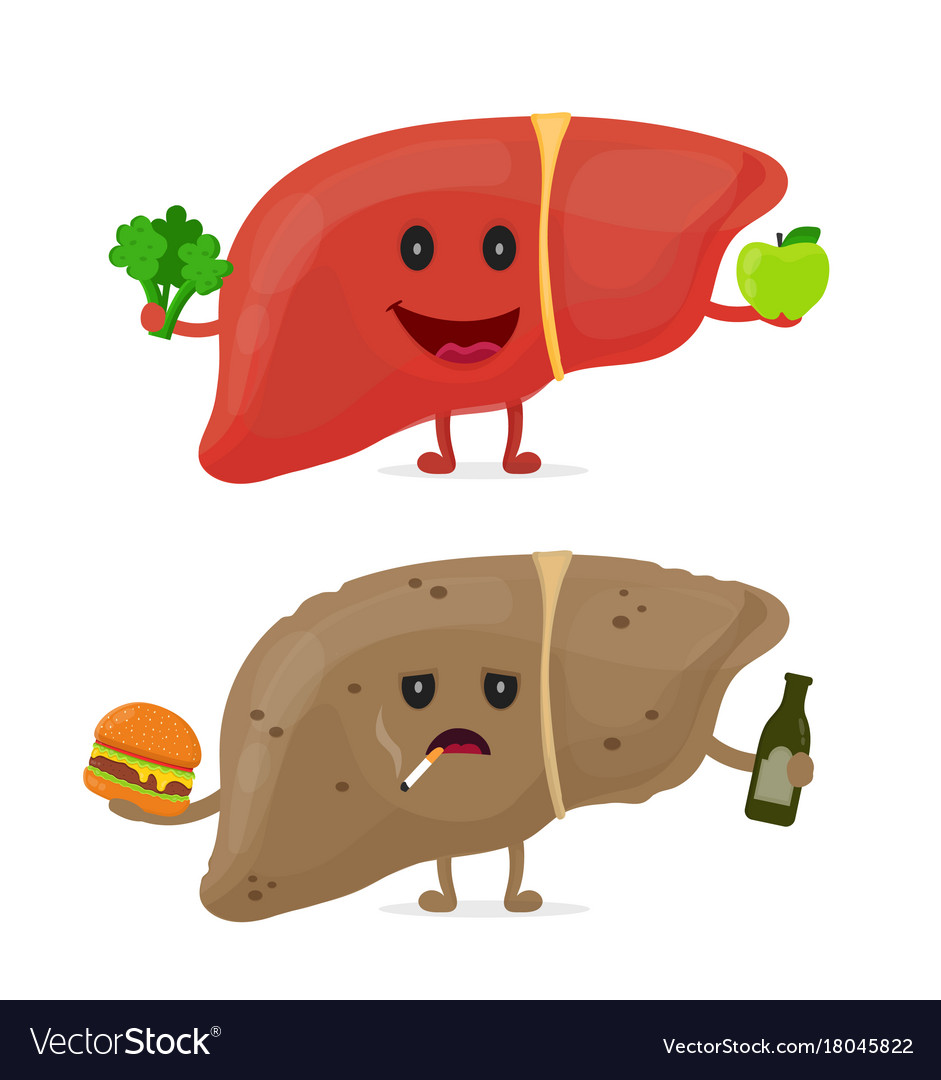 how to help a sick liver