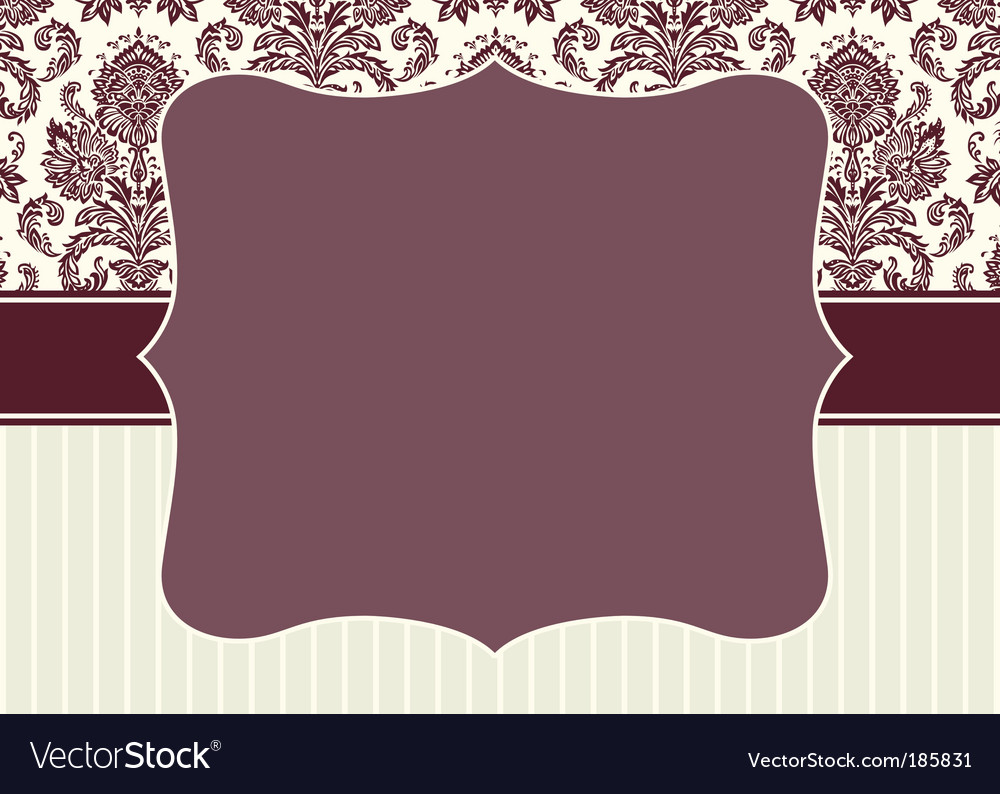 Patterns and frame vector image