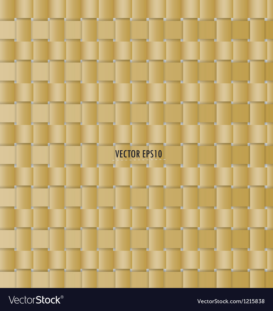 Wicker background seamless pattern vector image