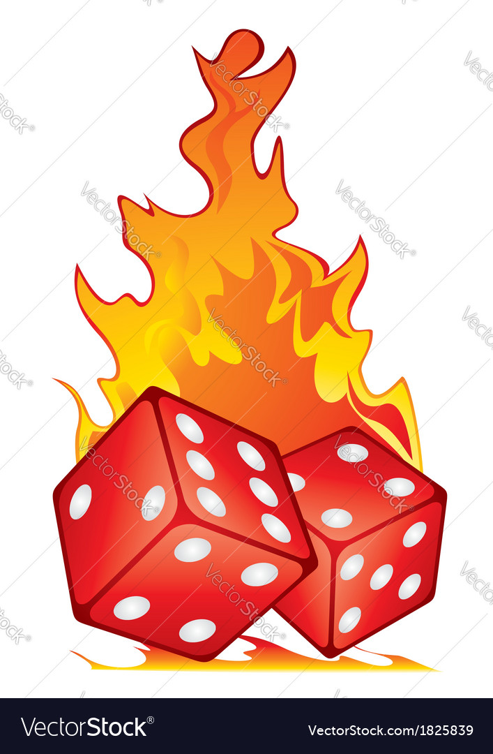 Hot game vector image