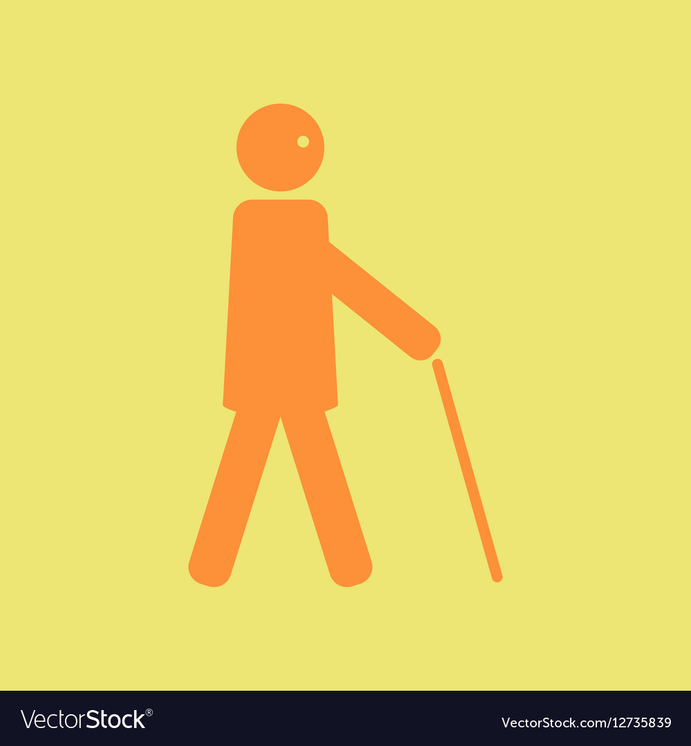 color background set men in wheelchair and