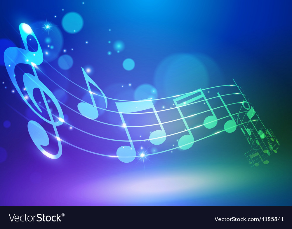 Abstract music notes background royalty free vector image abstract music notes background vector image voltagebd Image collections
