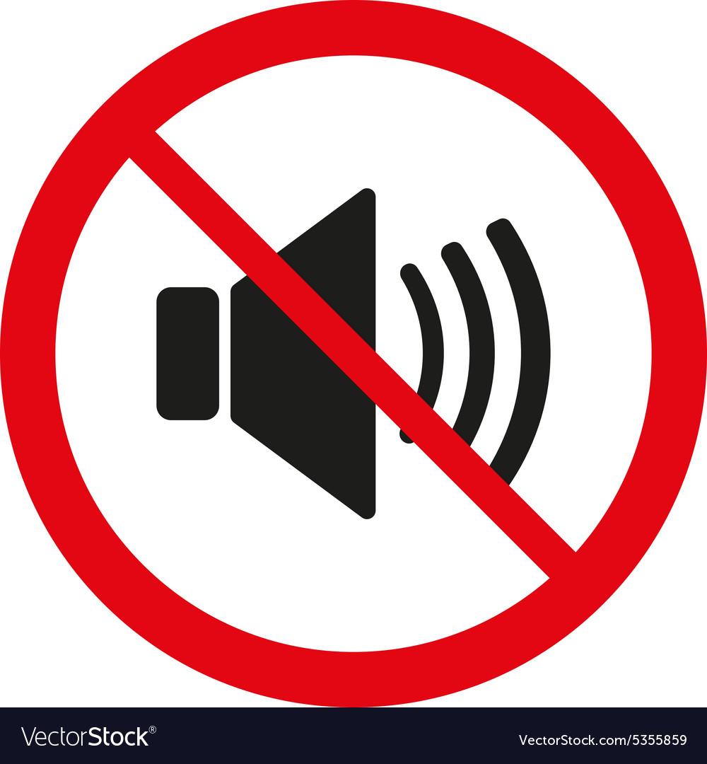 The no sound icon volume off symbol flat vector image the no sound icon volume off symbol flat vector image buycottarizona