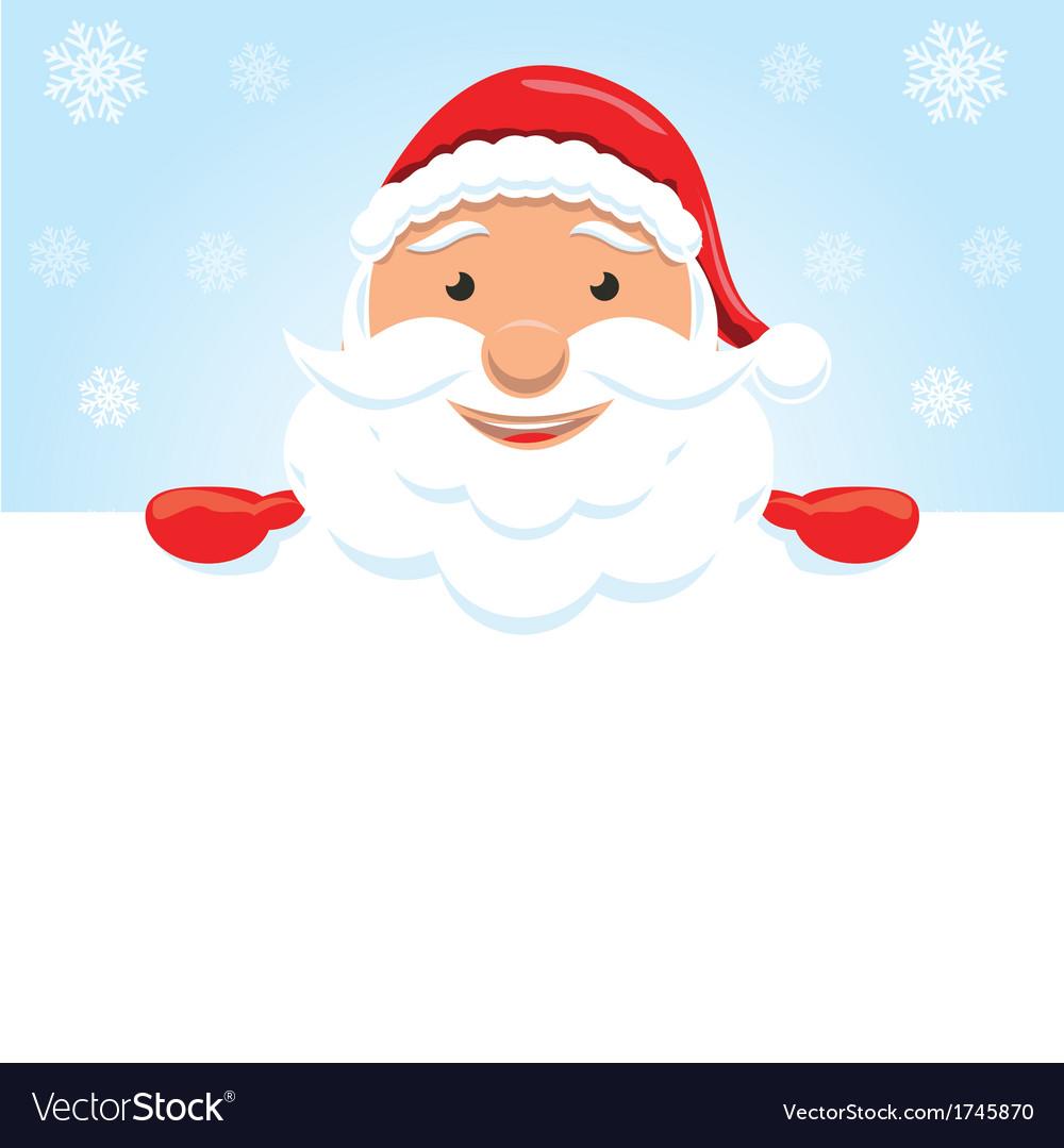 christmas santa claus royalty free vector image
