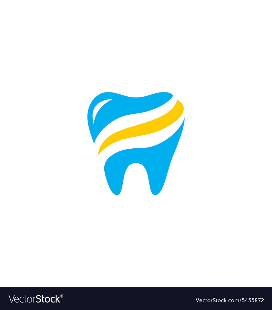 Dentist abstract health care medic logo