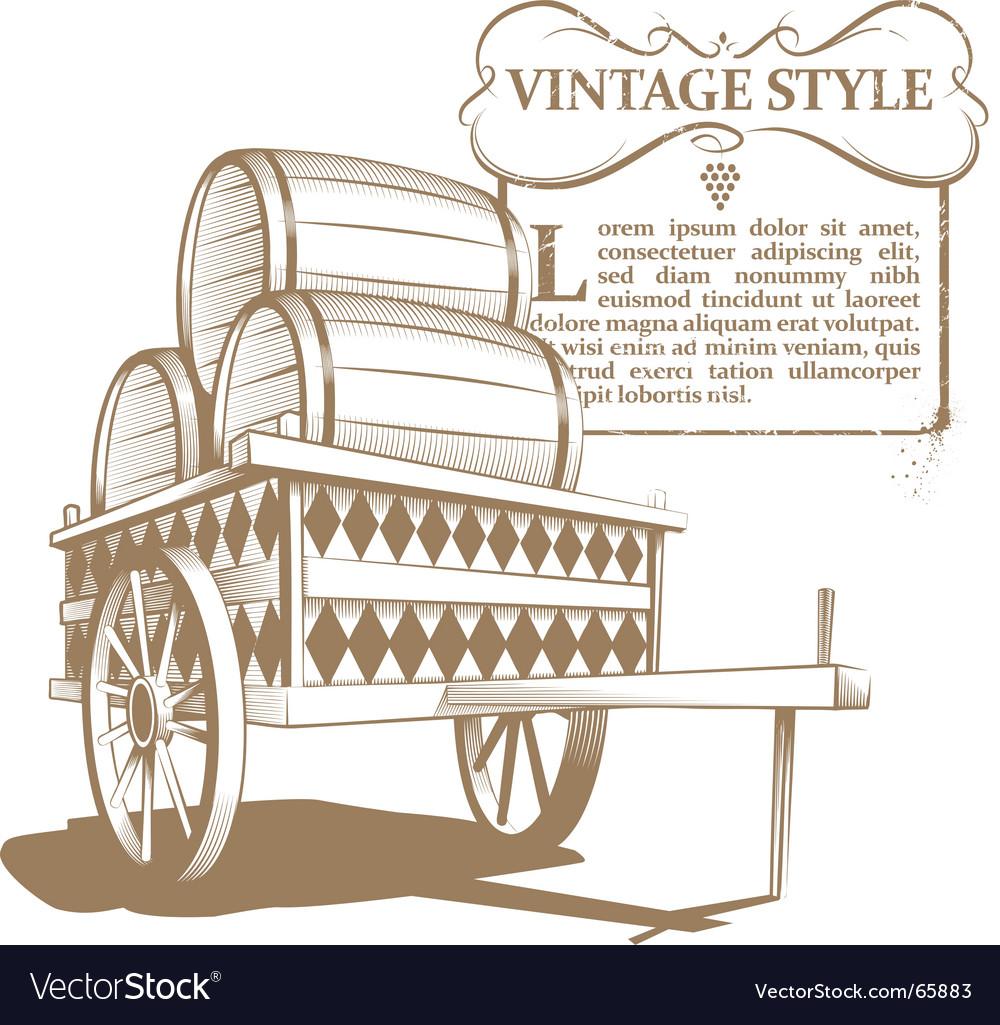 Vintage image vector image