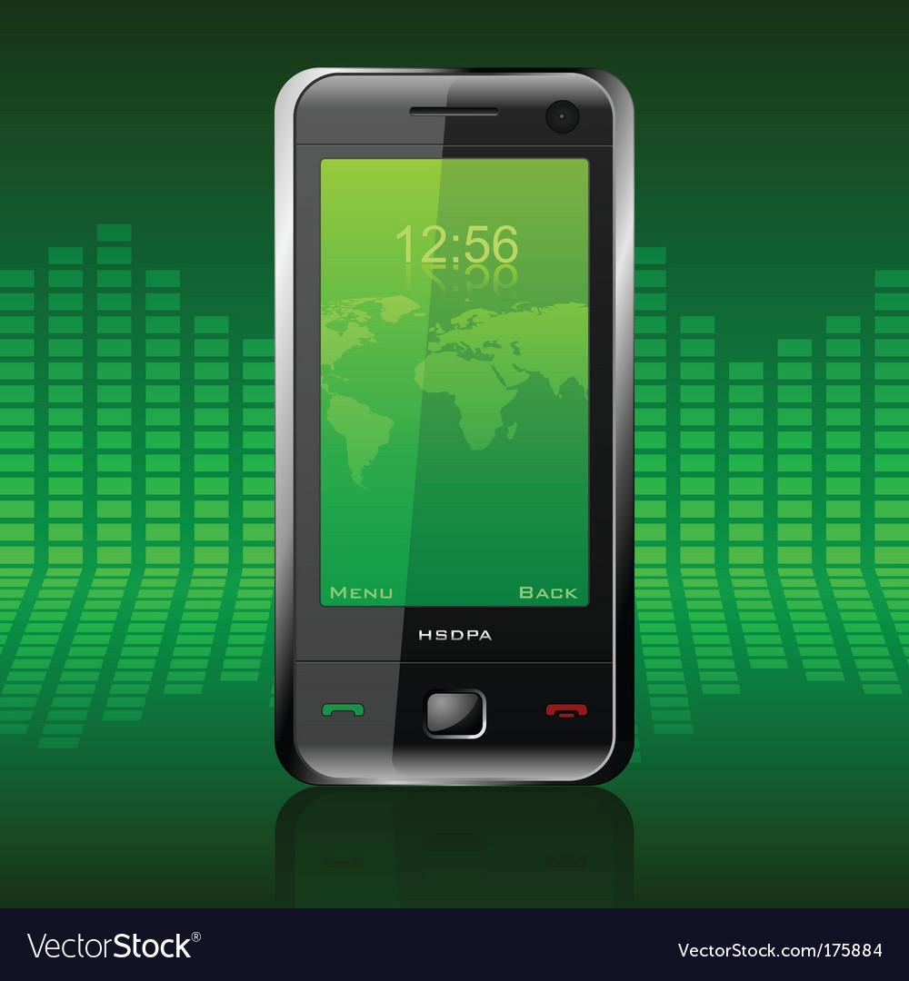 Modern communicator vector image