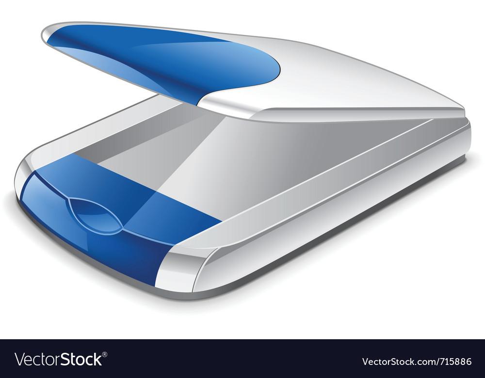 Scanner vector image