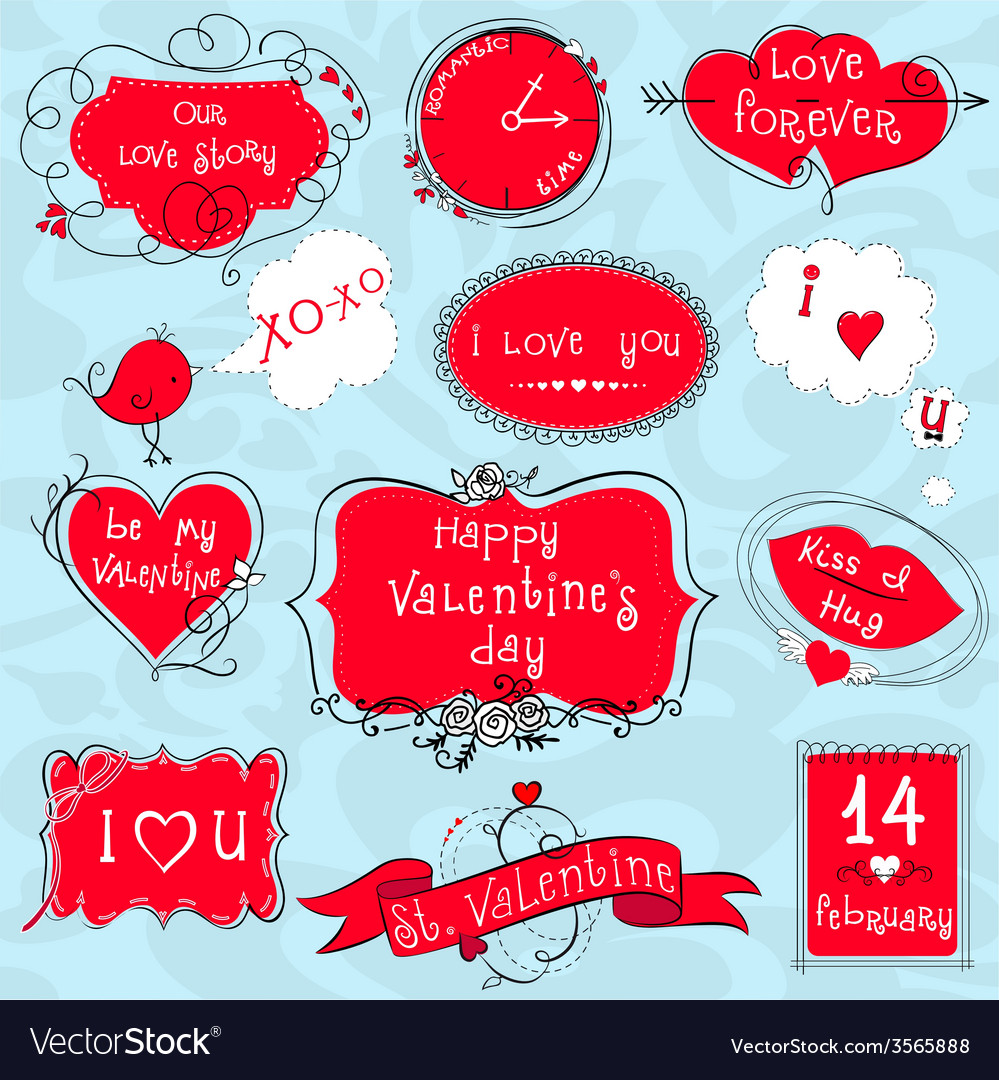 Doodle valentine frames royalty free vector image doodle valentine frames vector image jeuxipadfo Gallery