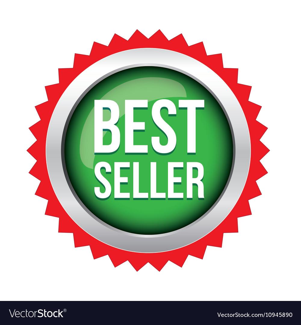 Best Seller badge vector image