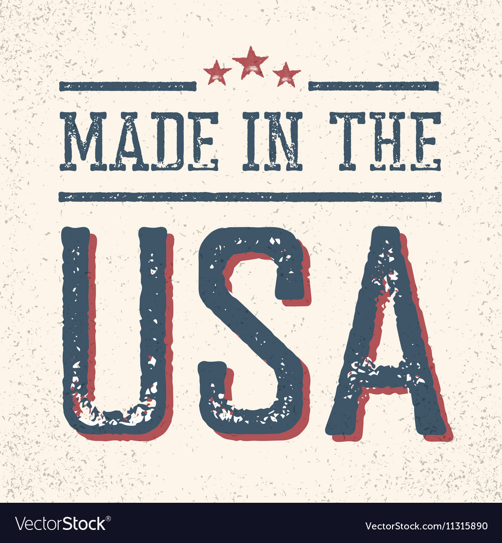 Vintage made in the usa stamp royalty free vector image vintage made in the usa stamp vector image buycottarizona