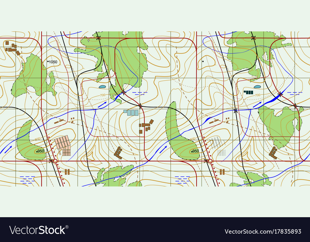 Seamless abstract topographical map seamless vector image seamless abstract topographical map seamless vector image gumiabroncs Images