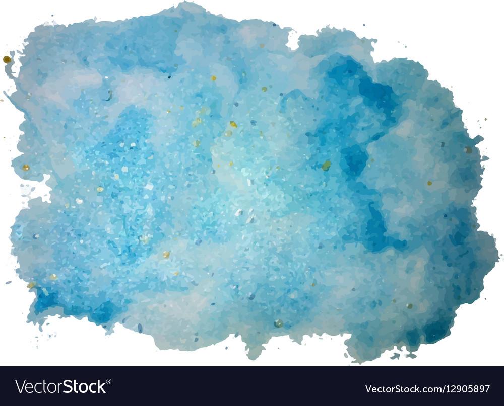 Watercolor background texture vector image