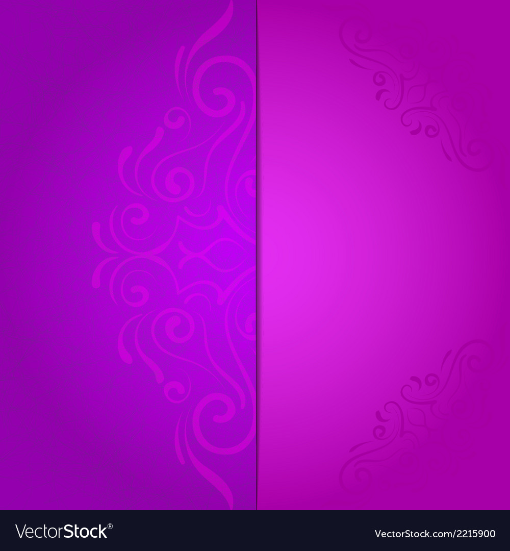 Background for invitation with violet floral vector image stopboris Image collections