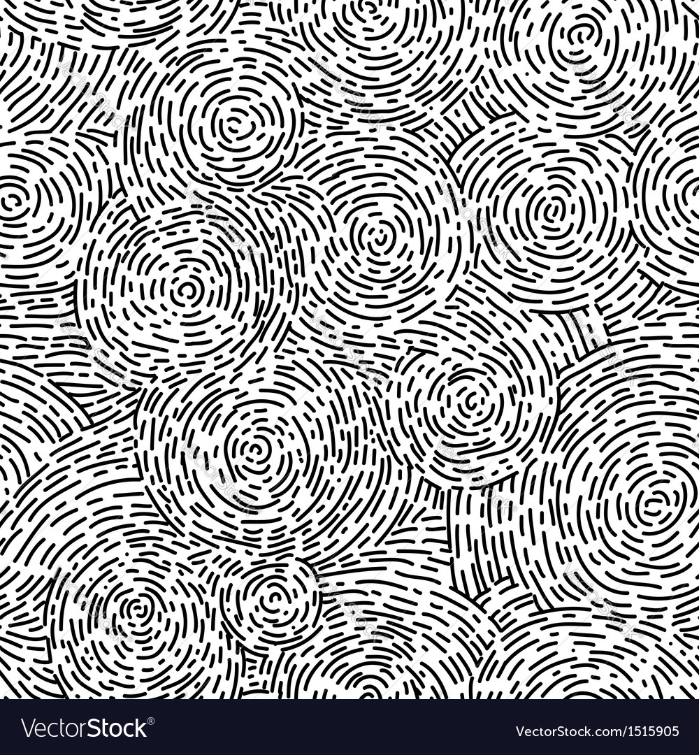 Swirl pattern vector image
