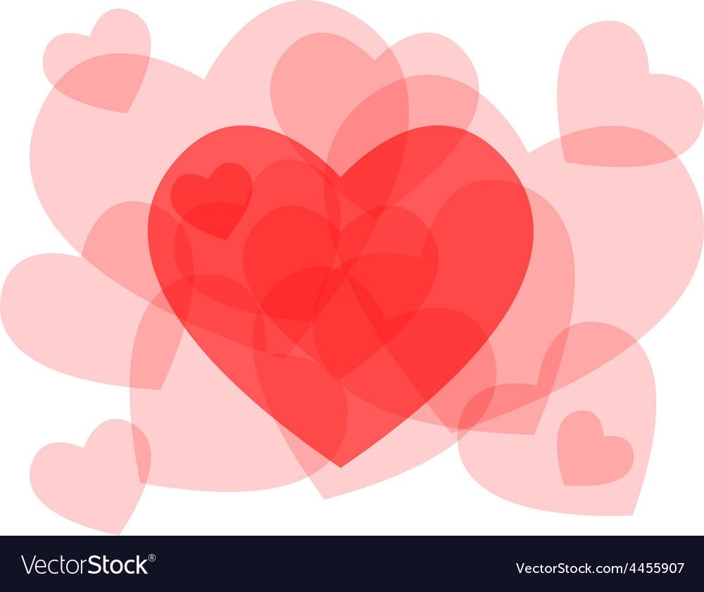 Transparent heart symbols card royalty free vector image transparent heart symbols card vector image buycottarizona Gallery