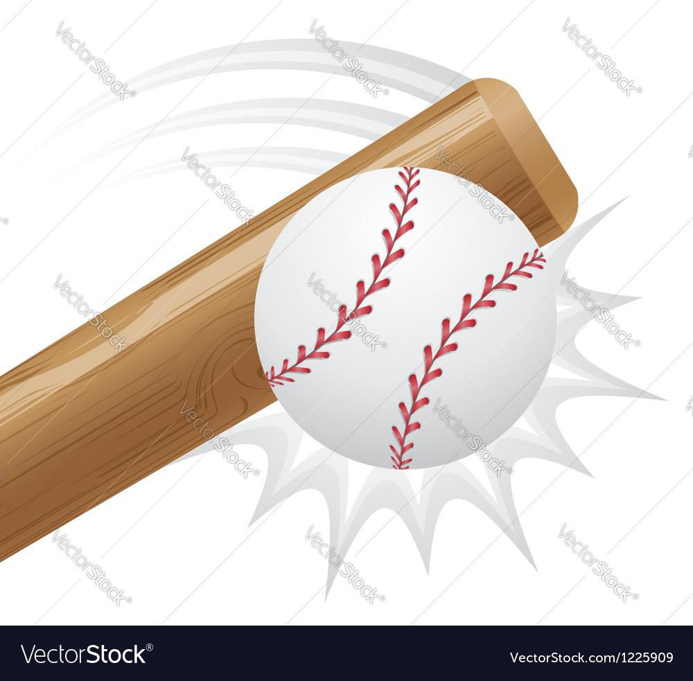 Baseball 03 vector image