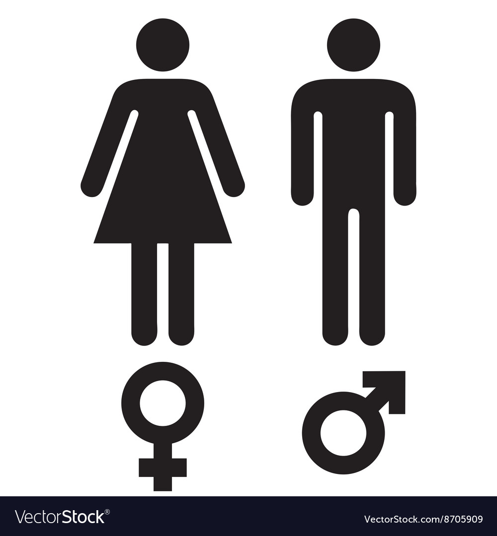 Male female symbols royalty free vector image vectorstock male female symbols vector image buycottarizona