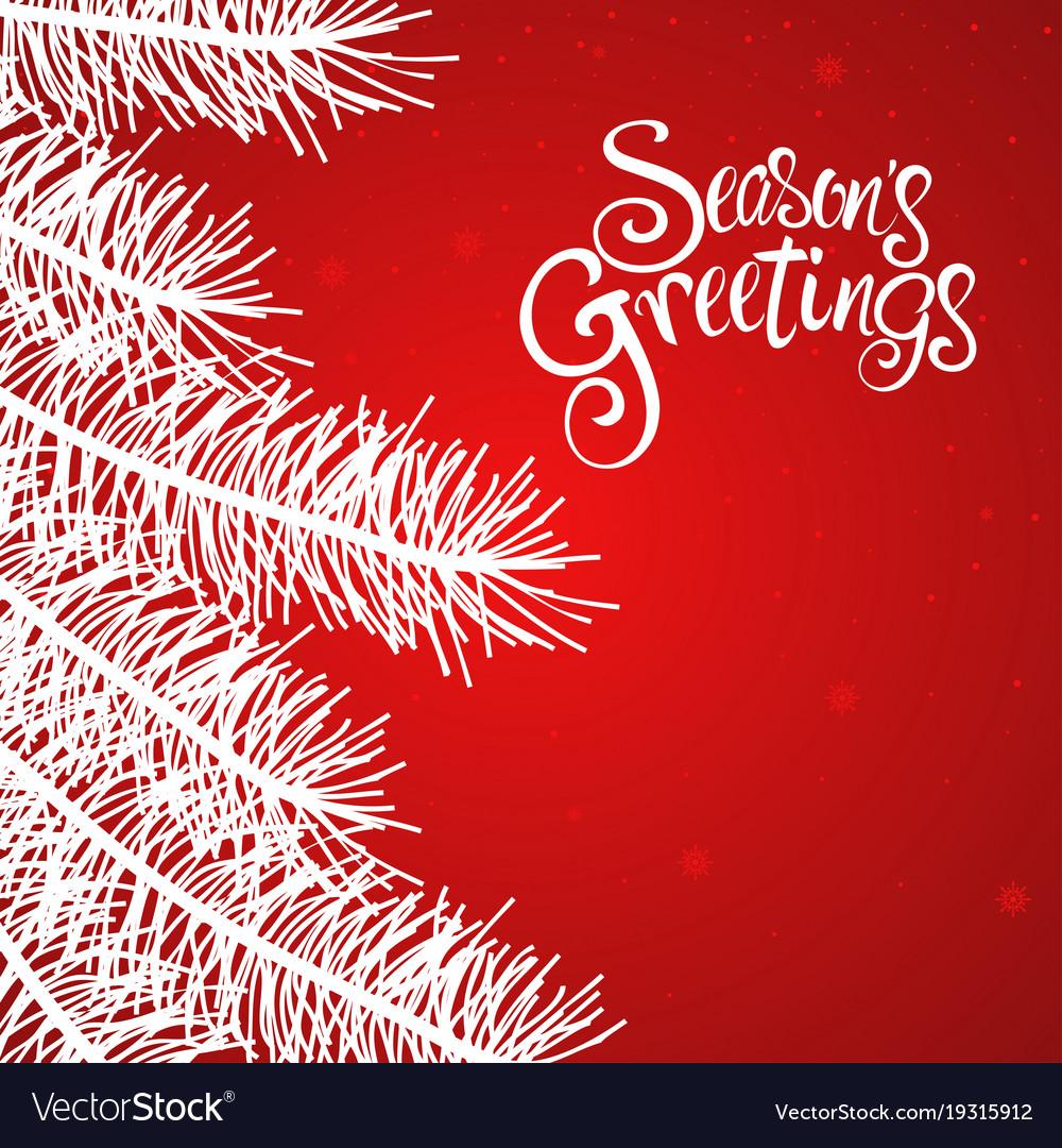 Seasons greetings text royalty free vector image seasons greetings text vector image kristyandbryce Images