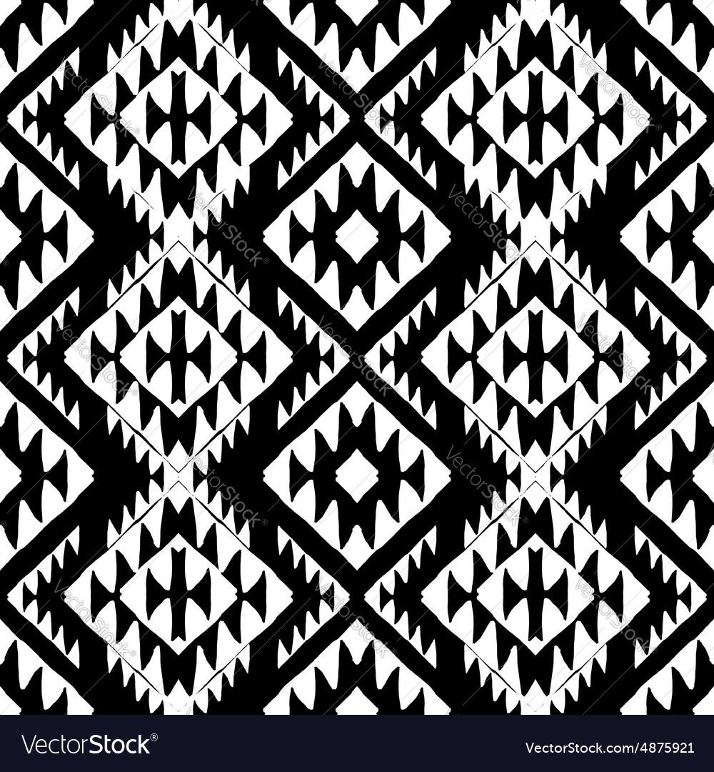 Aztec background vector image