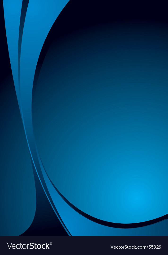Blue blue vector image