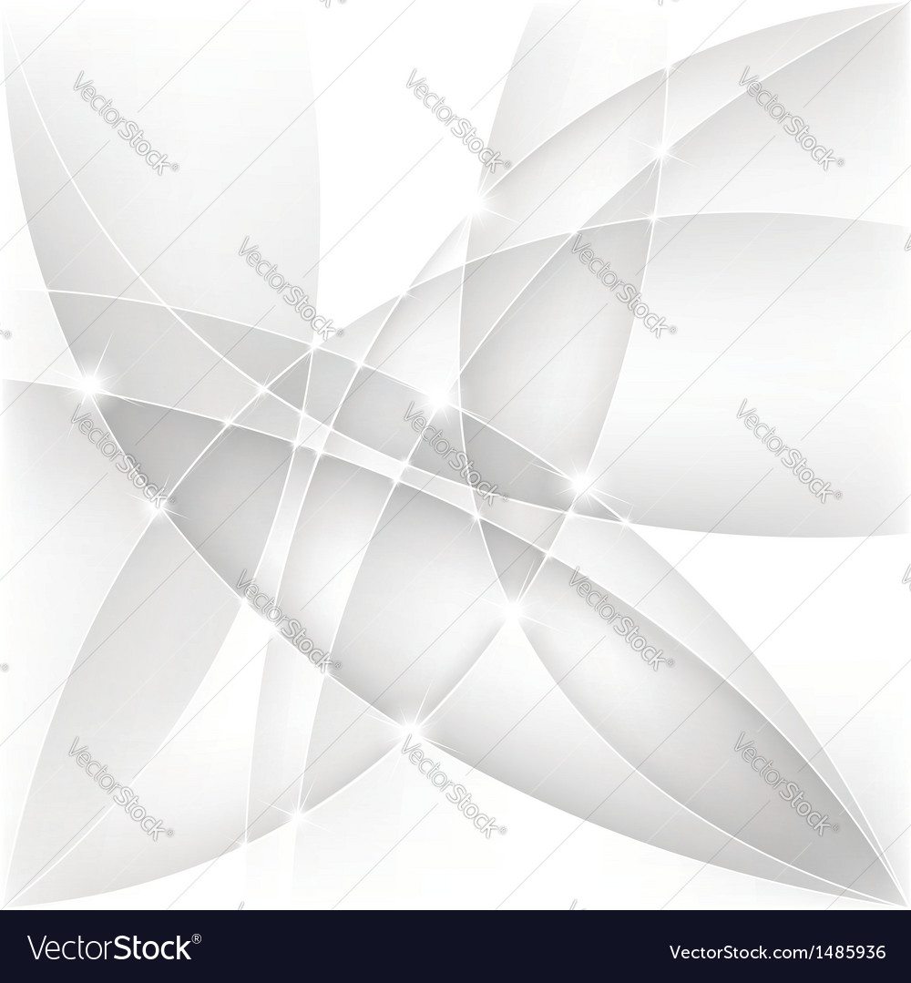 Abstract silver background vector image