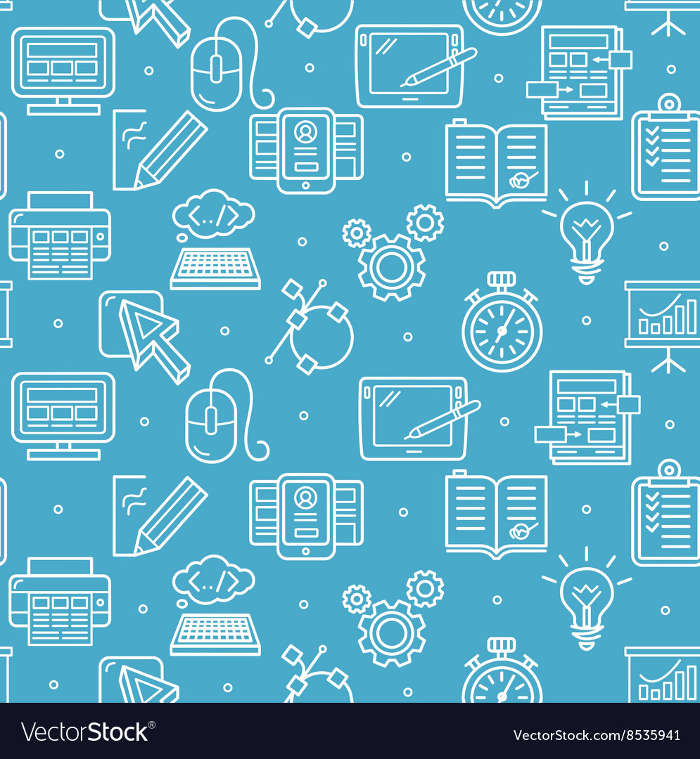 Web Design Background Pattern vector image