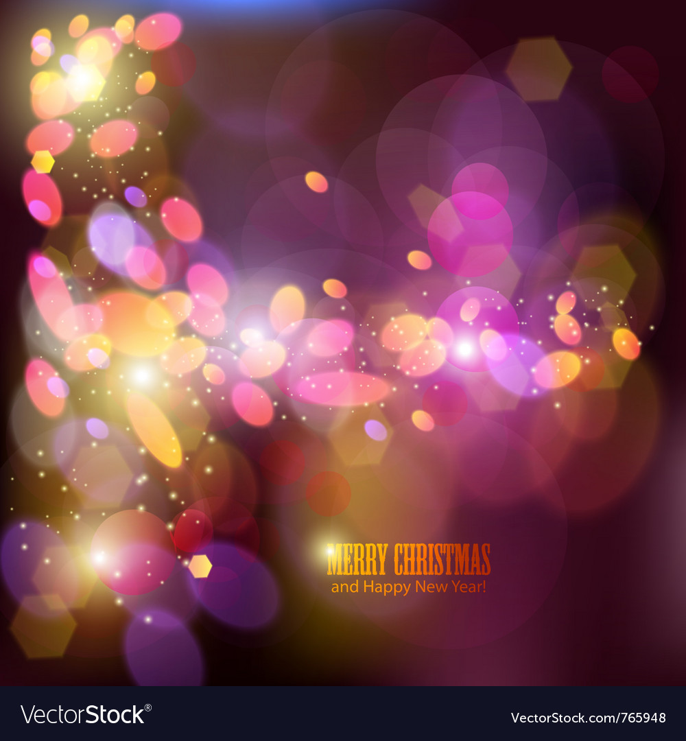 Elegant christmas background with place for text i vector image