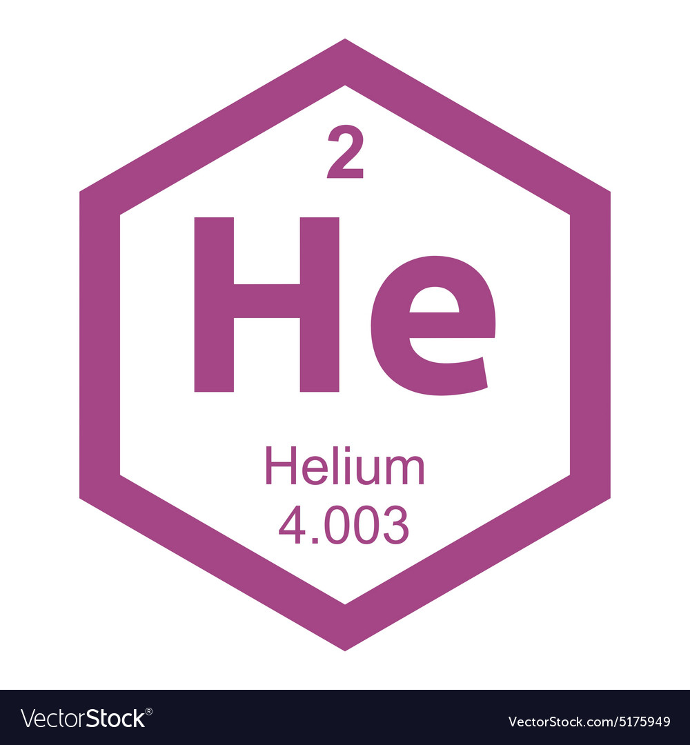 Periodic table helium royalty free vector image periodic table helium vector image buycottarizona
