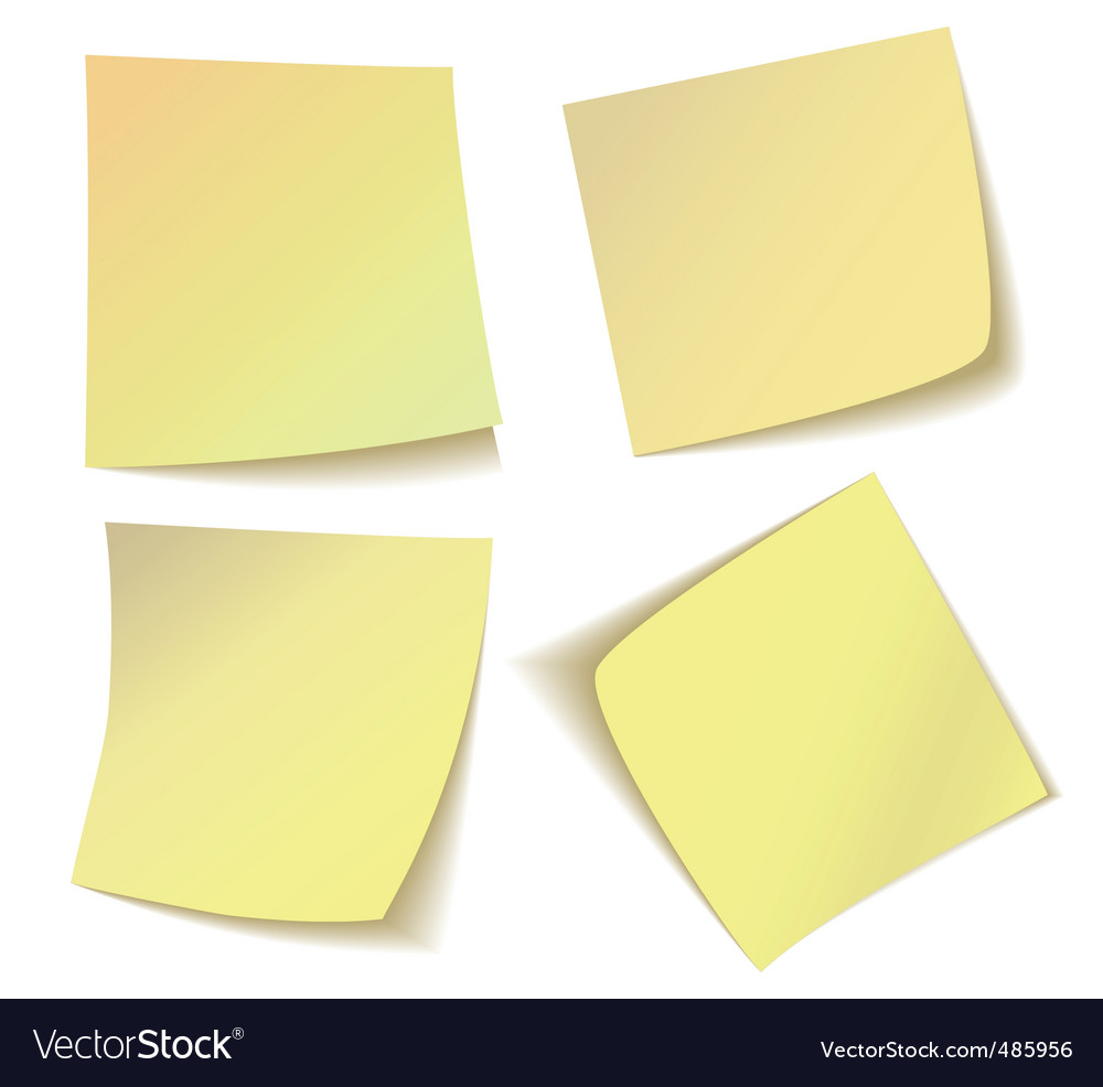 Free vector graphic sticky note note info paper free image on - Sticky Notes Vector Image