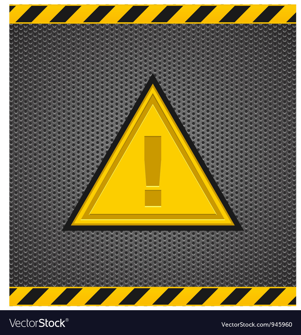 Caution Sign vector image