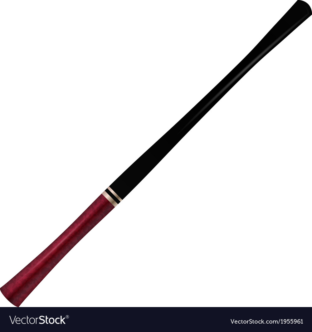 Long cigarette holder vector image