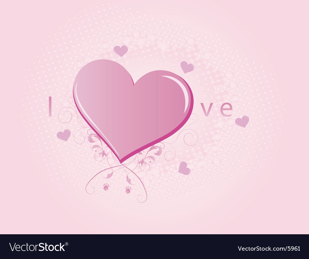 love heart vector. Love Heart Vector