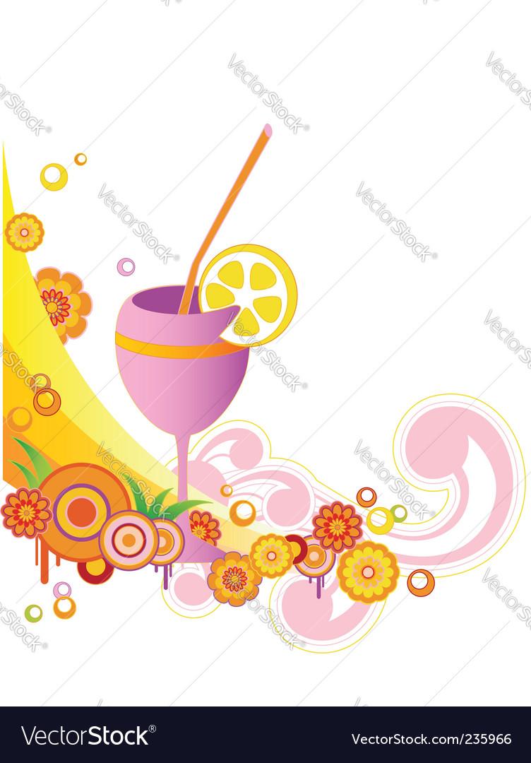 Juice vector image