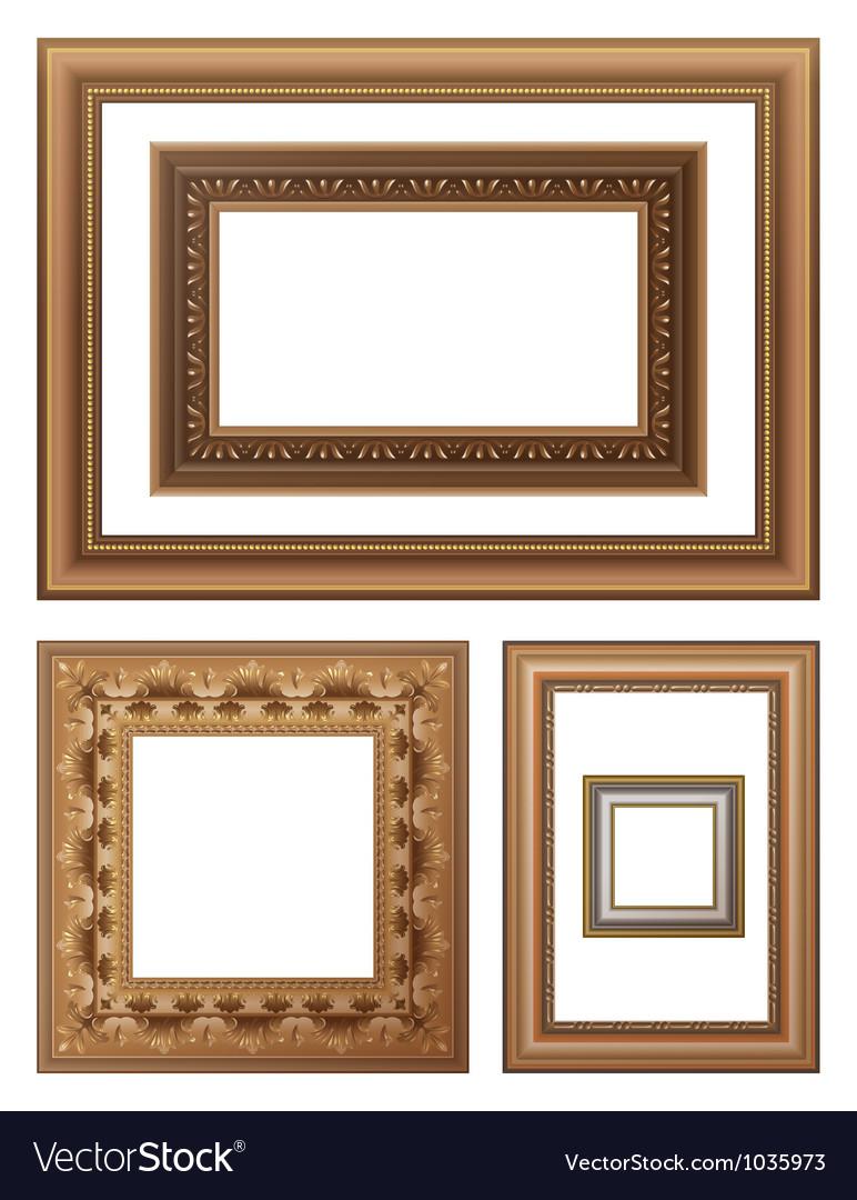 Framing vector image