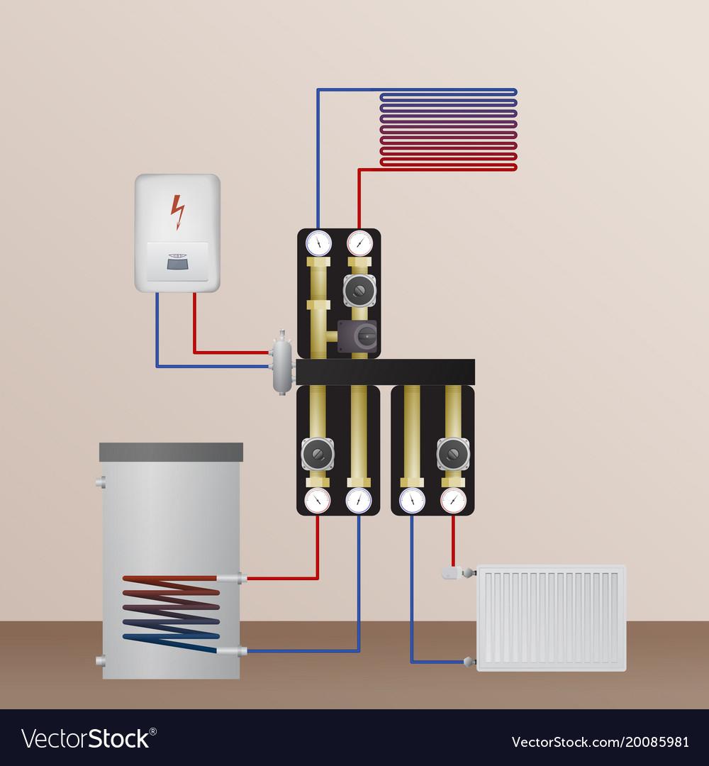 Nett Kommerzieller Warmwasserboiler Bilder - Schaltplan Serie ...