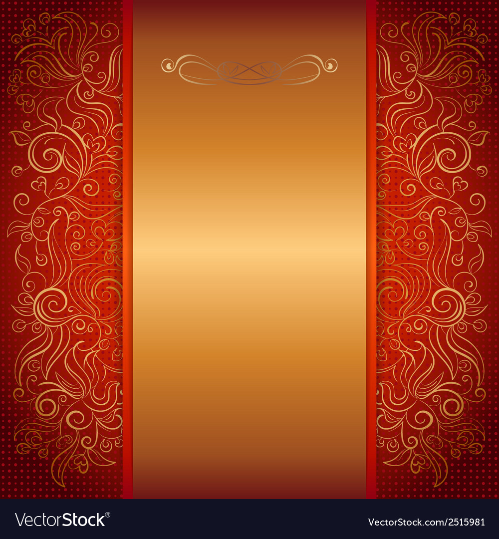 Red royal invitation card royalty free vector image red royal invitation card vector image stopboris Image collections