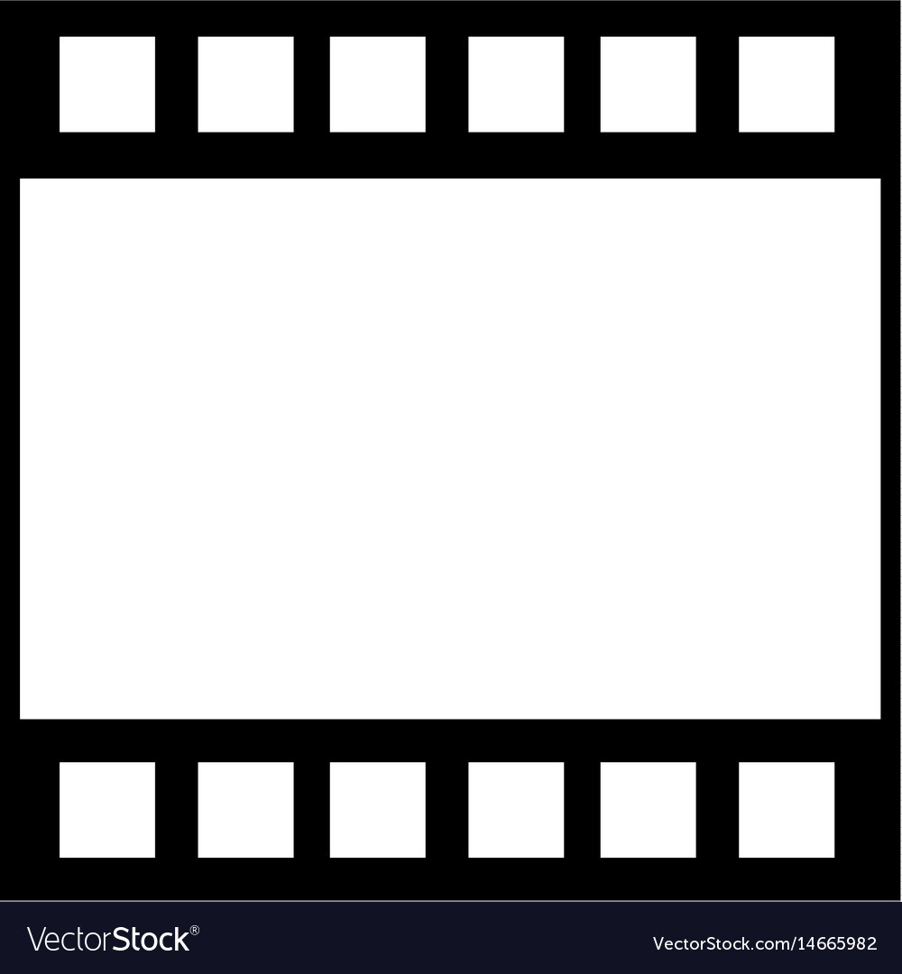 Strip film frame cinema template image royalty free vector for Film strip picture template