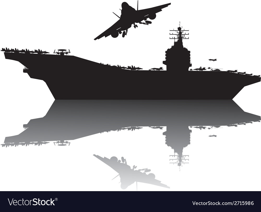 Navy power vector image