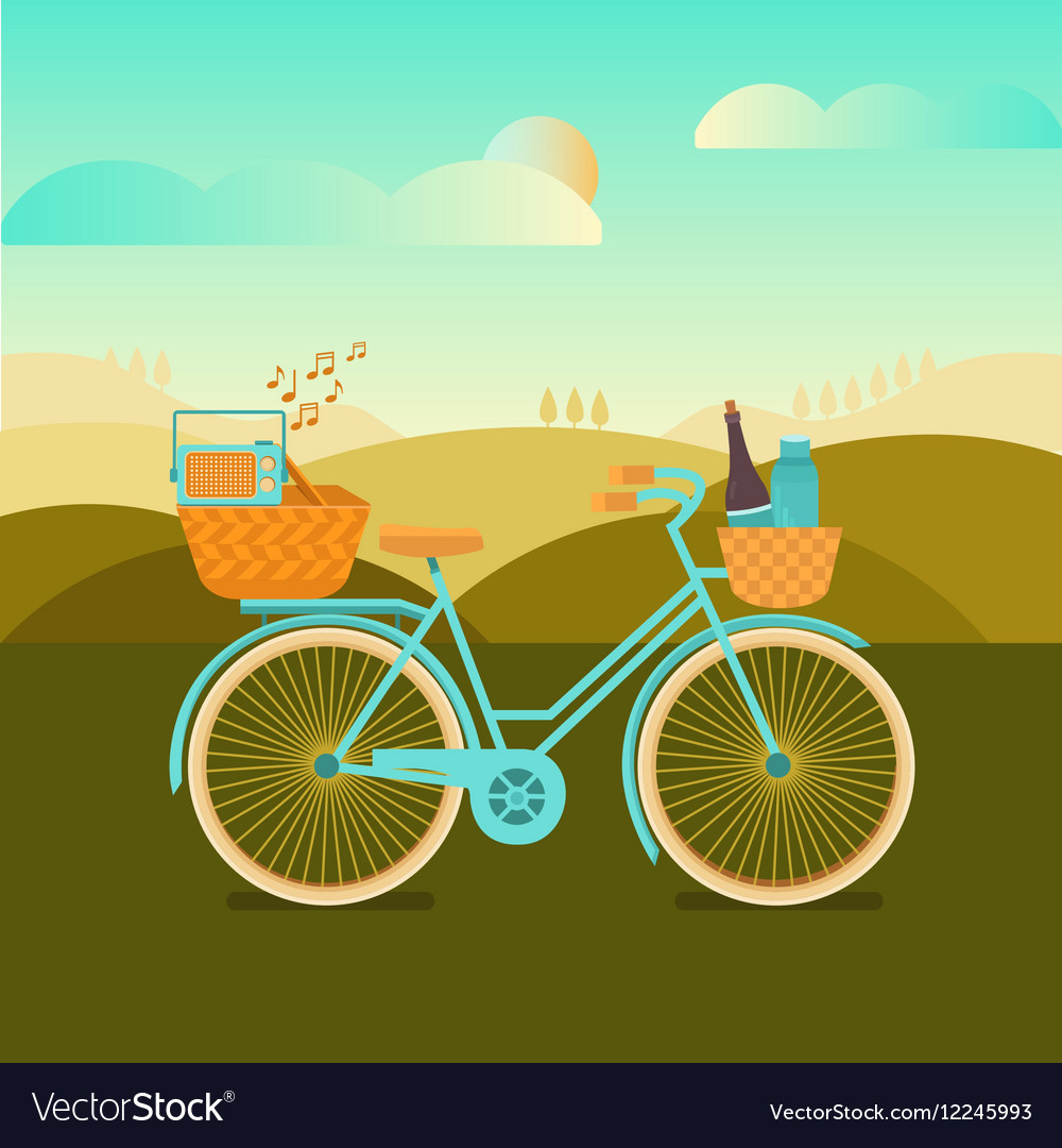 To go camping vector image