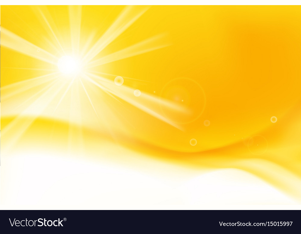 Abstract yellow and orange background with vector image
