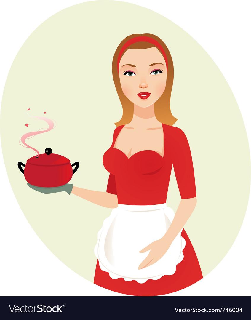 Sexy chef clip art