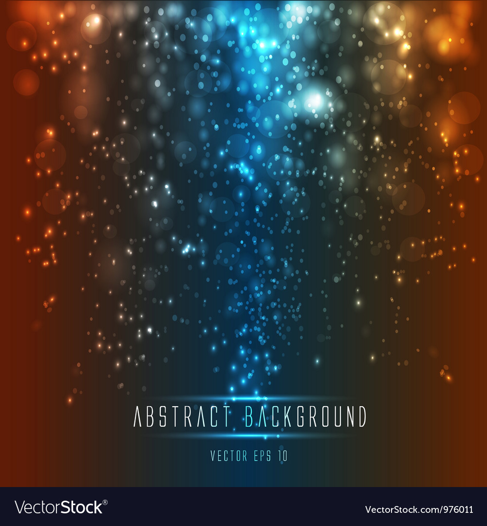 Abstract light backround vector image