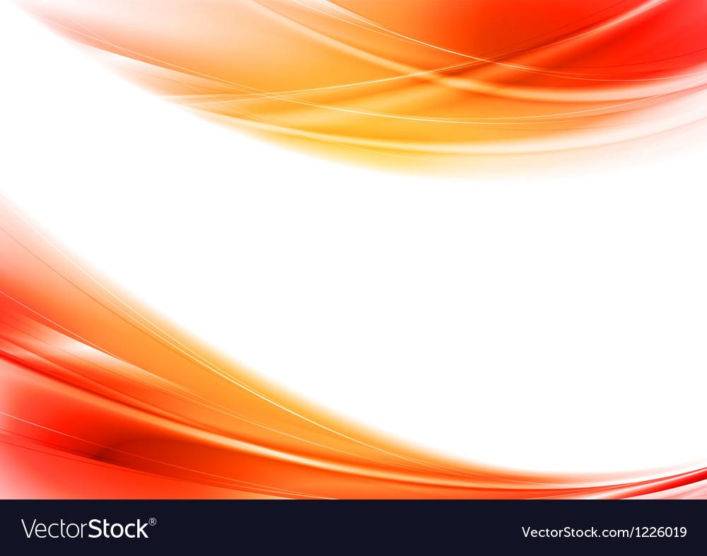 Elegant bright wavy background vector image