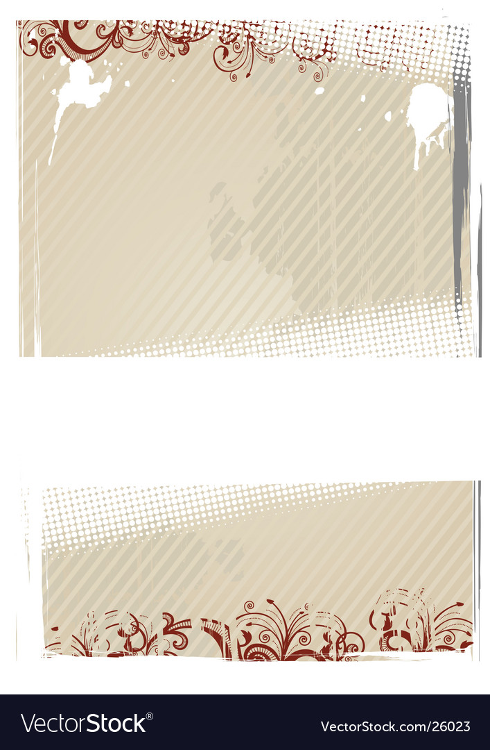 Illustration of beige wallpaper vector image