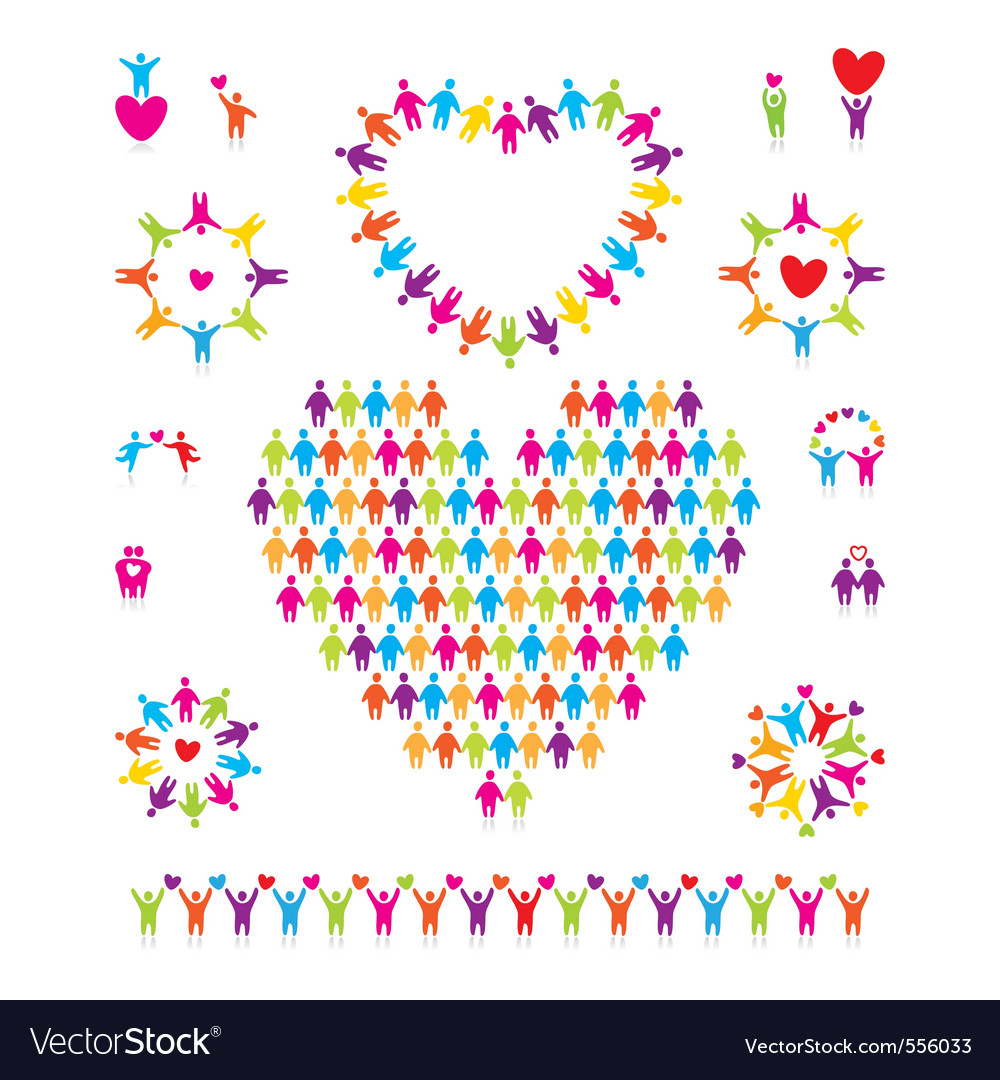 Community vector image
