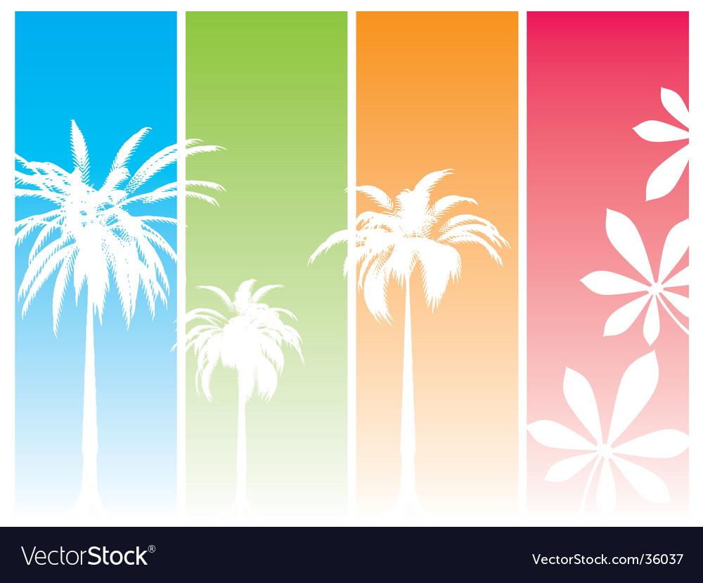 Summer dream vector image